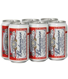 Budweiser - 6-Pack Cans