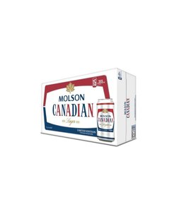 Molson Canadian - 15 Pak Cans