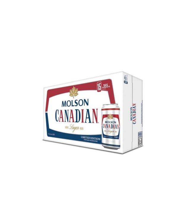 Molson Canadian - 15 Pak Cans