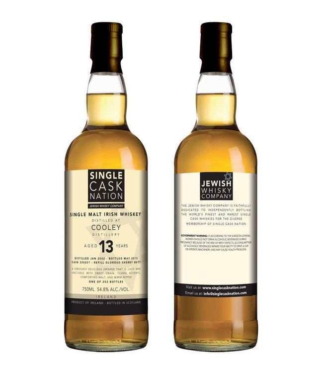 Single Cask Nation - Cooley 13 yr old
