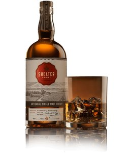 Canadian Whisky Shelter Point Single Malt Whisky Release 4