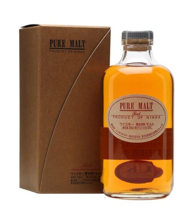 Japanese Whisky Nikka Pure Malt - Red