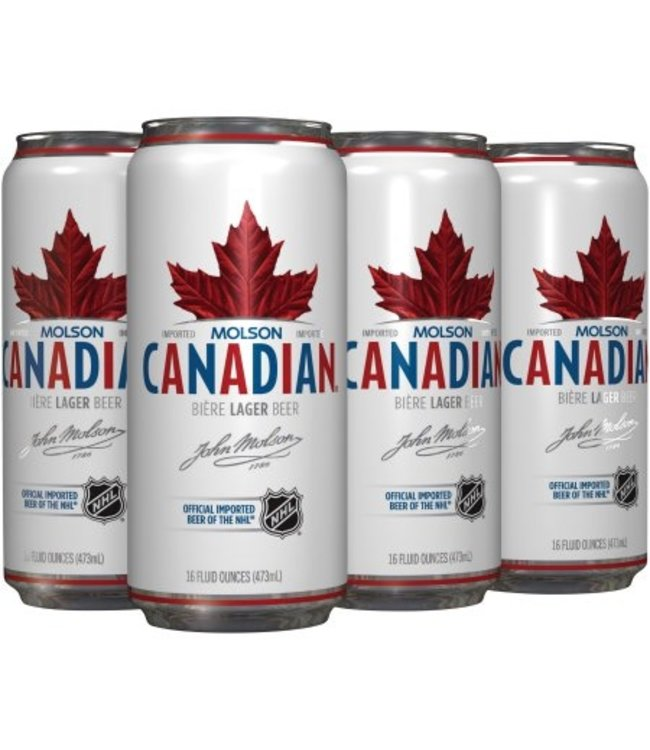 Molson Canadian - 6-Pack Tall Cans