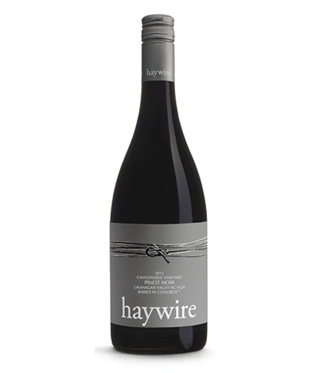 Haywire Pinot Noir Canyonview Vineyard