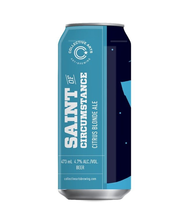 Collective Arts Saint of Circumstance Citrus Blonde Ale