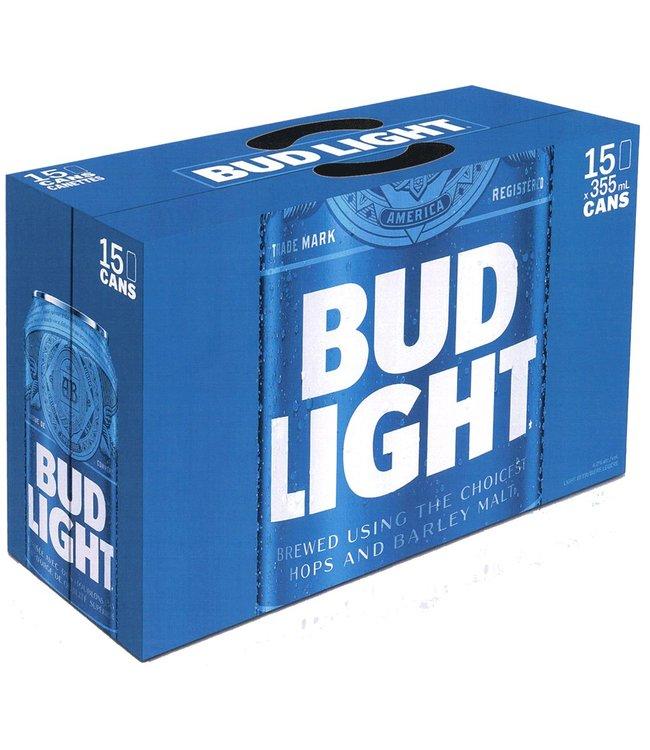 Bud Light - 15 Pak Cans