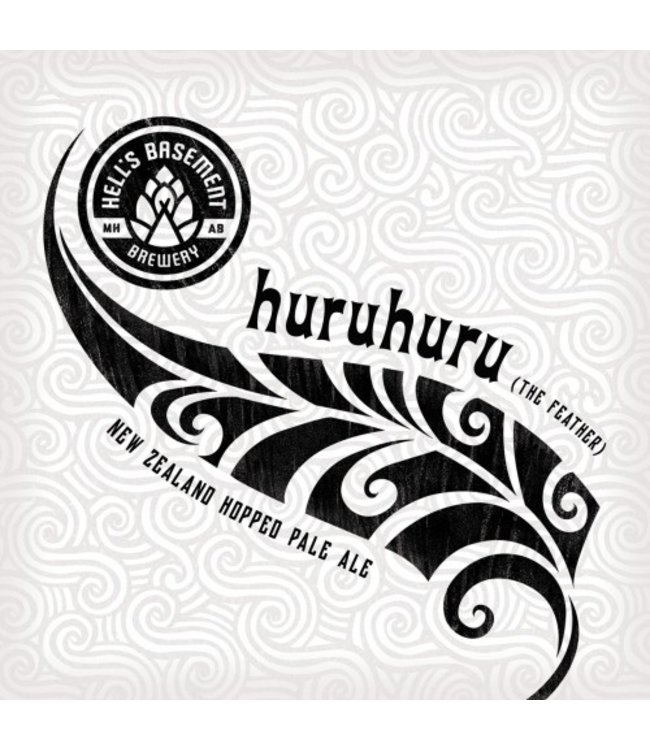Hell's Basement HuruHuru Pale Ale Cans