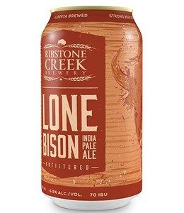 Ribstone Creek Lone Bison IPA - 6 Pak