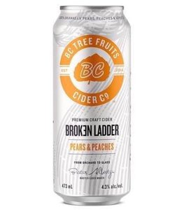 Broken Ladder Pears & Peaches Cider - 4 pak