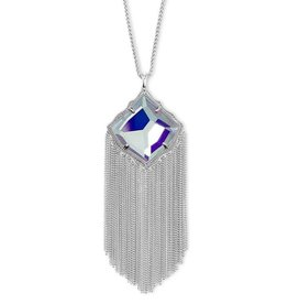 Kendra Scott Kingston Necklace in Dichroic Glass on Silver