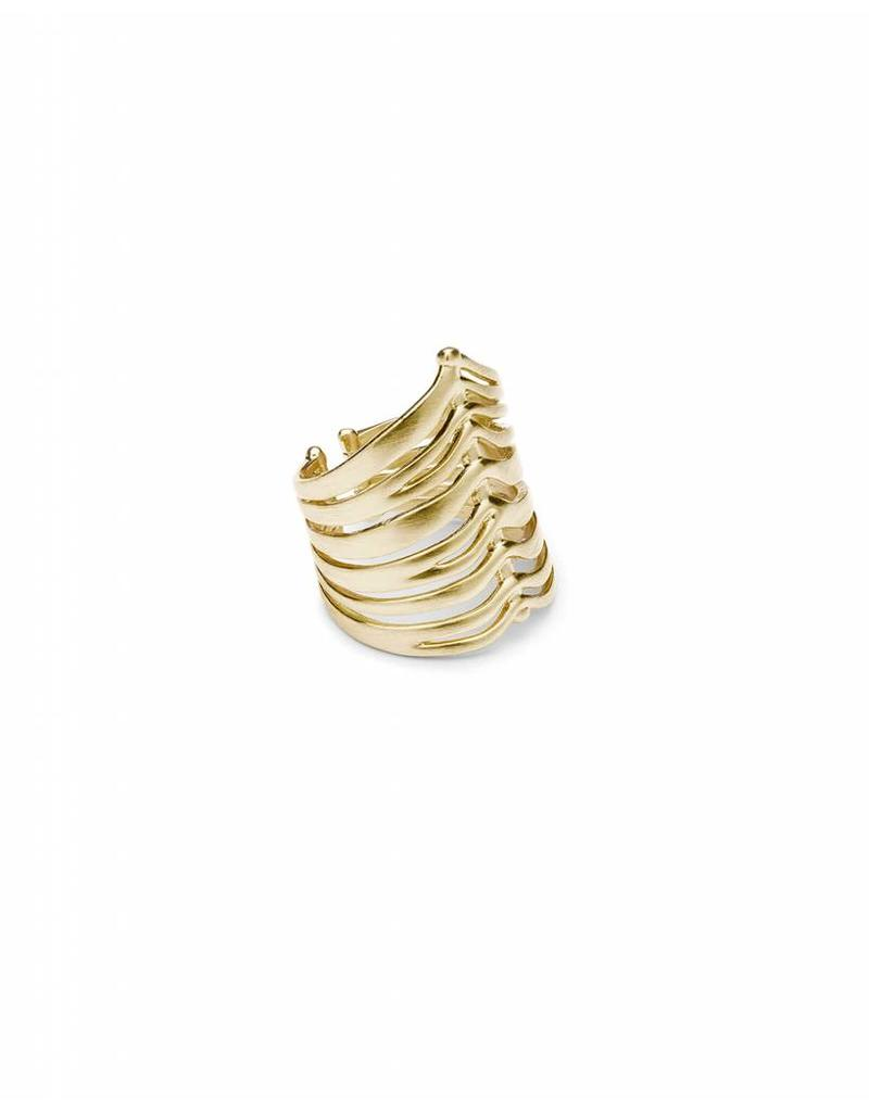 Kendra Scott Liv Ring in Gold- One Size