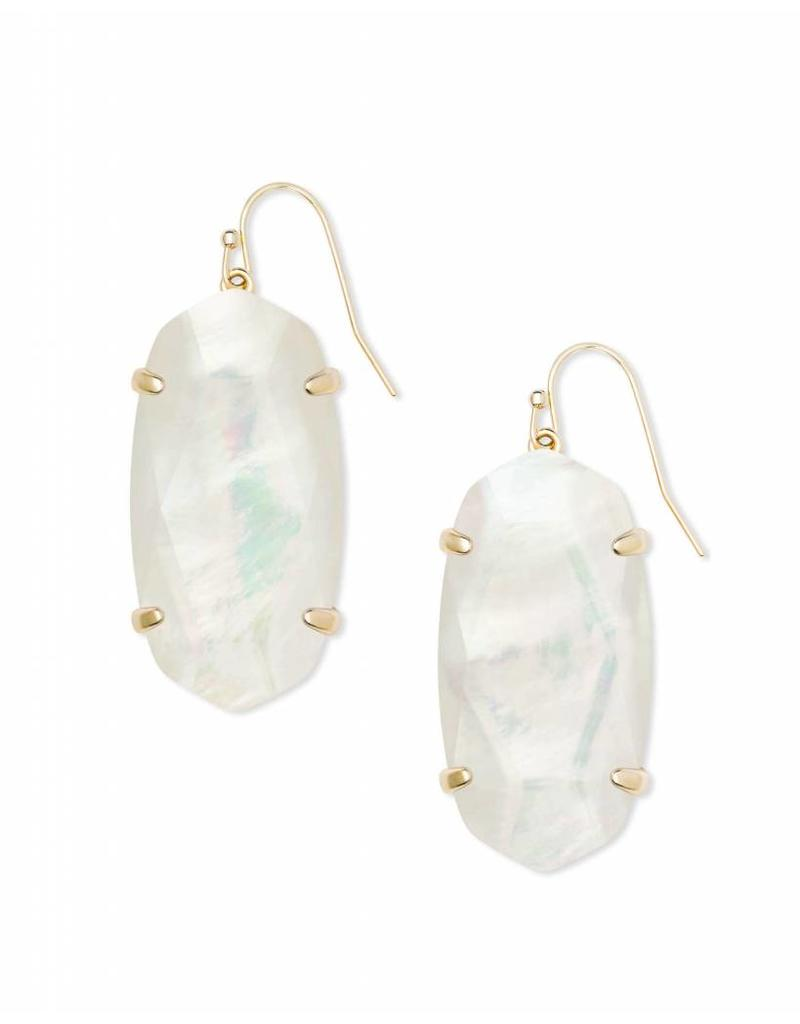 Kendra Scott Esme Ivory Mother of Pearl on Gold