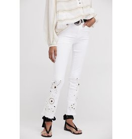 998d56e8225 Free People Free People Jean Cutwork Cig White Ivory