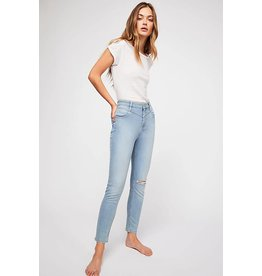 Free People Free People Mara Skinny Jean-- Blue