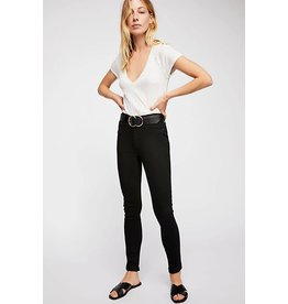 Free People Jean Long and Lean Black