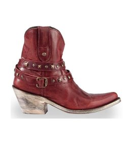 Liberty Black Cabra Volcano/Blood Red Boots