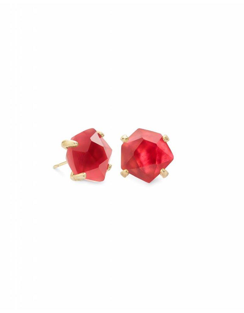 Kendra Scott Ellms Earring Gold Berry Illusion