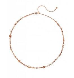 Kendra Scott Rhett Necklace Rose Gold Blush Mix