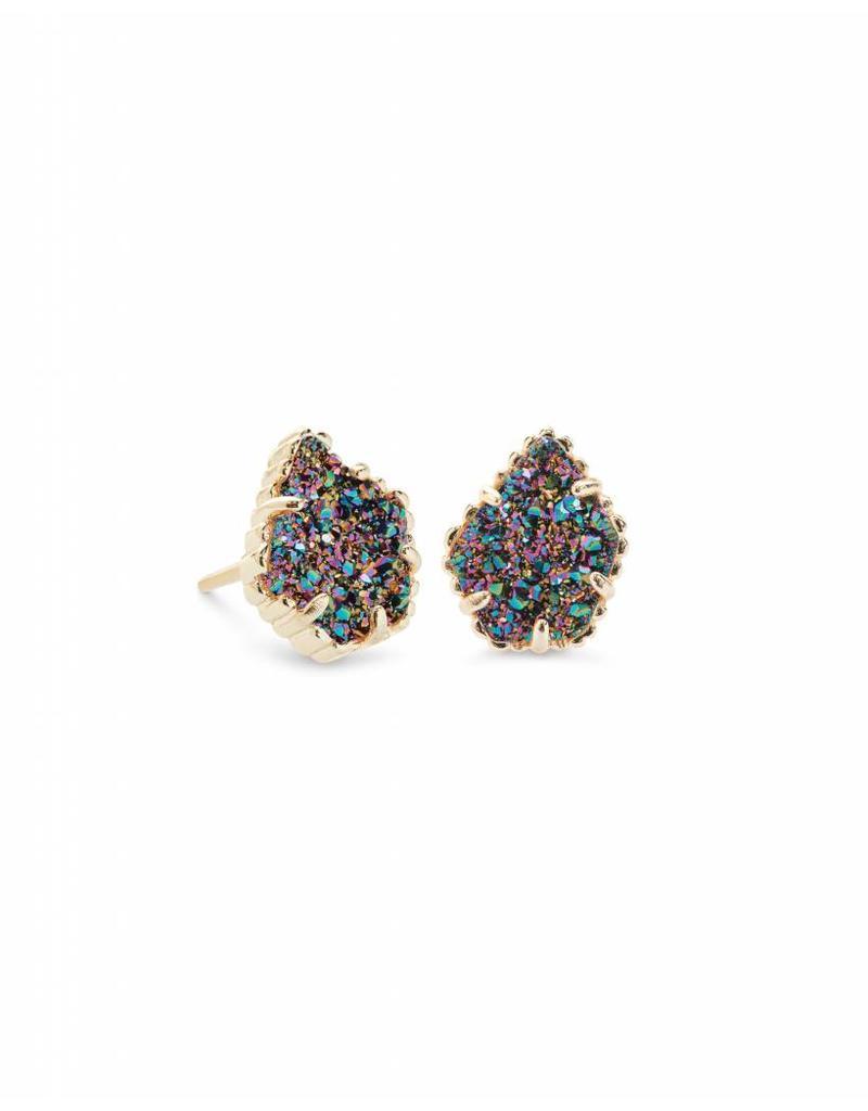 Kendra Scott Tessa Earrings in Multi Drusy on Gold