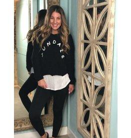 Sundaze Black Sweater
