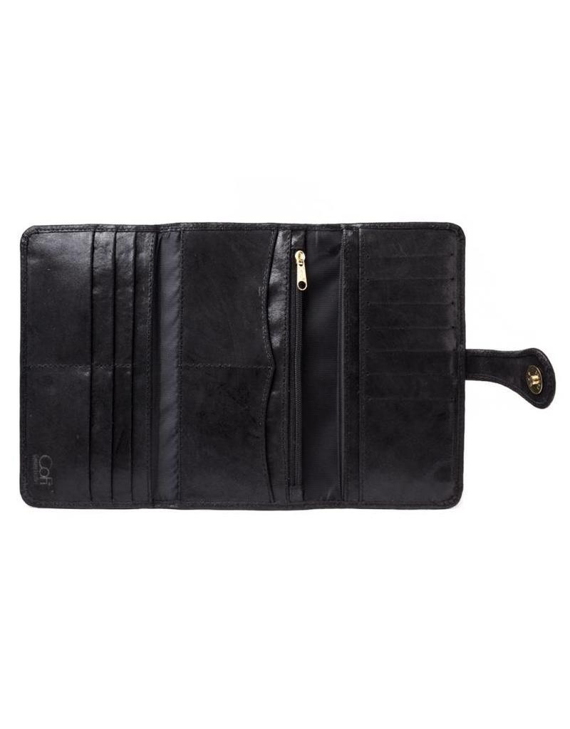 CoFi Leather Wallet - Black