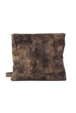 CoFi Leather Mollie Crossbody Convertible Clutch - Vintage Brown