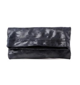 CoFi Leather Mollie Convertible Clutch - Navy
