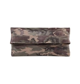 CoFi Leather Mollie Convertible Clutch - Camouflage