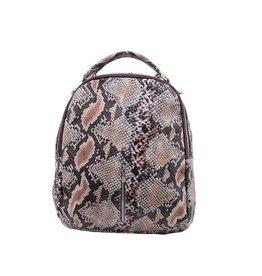 Cofi Leather Brooke Backpack - Snake