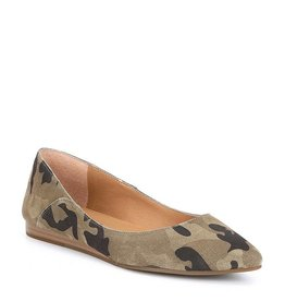 Lucky Brand Bylando Flat in Camo Suede