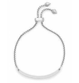 Kendra Scott Jack Bracelet in Lilac Crystal on Silver