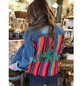 Denim Cactus Jacket