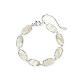 Kendra Scott Millie Bracelet Silver Ivory MOP
