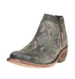 Liberty Black Verde Stonewashed Ankle Boot
