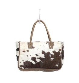 Cowhide Bucket Small Bag