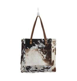 Cowhide Front Pocket Bag