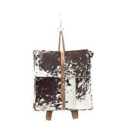 Cowhide Backpack Bag Hairon CH982