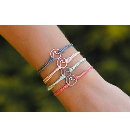 Pura Vida Rose Gold Wave Bracelet