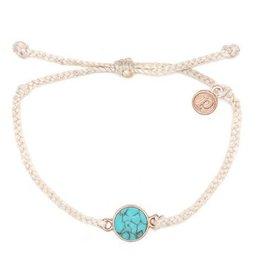 Pura Vida Blush Riviera Stone Bracelet