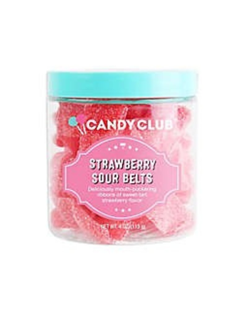 Candy Club Strawberry Sour Belts