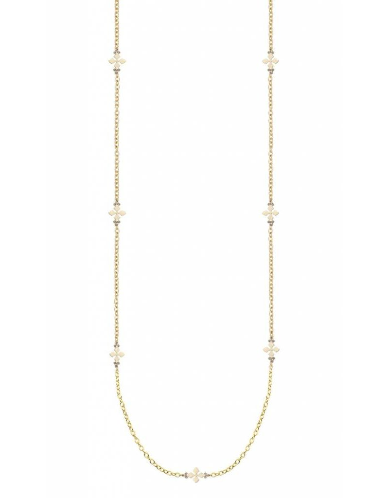 Natalie Wood Believer Long Cross Necklace