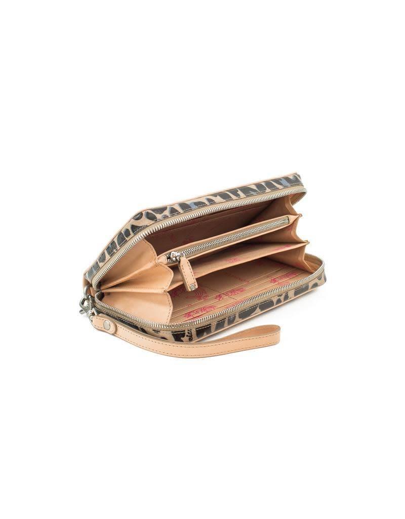 Consuela Wristlet Wallet Blue Jag