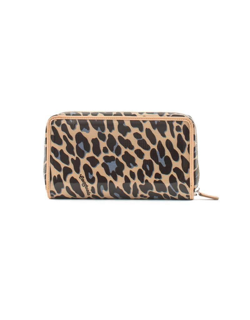 Consuela Legacy Wristlet Wallet- Blue Jag