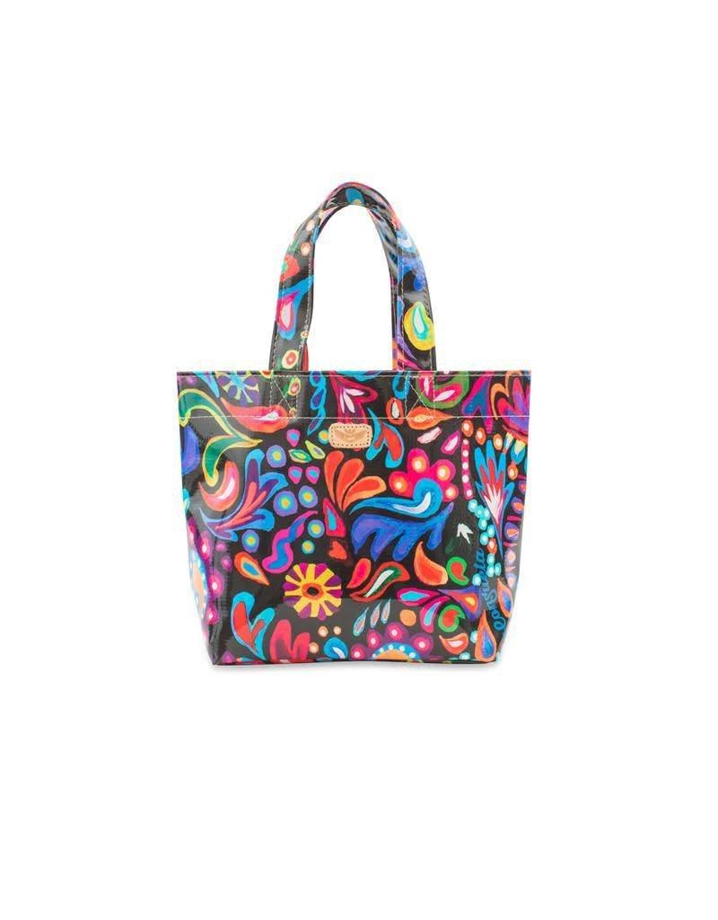 Consuela Mini Bag- Sophie Black Swirly