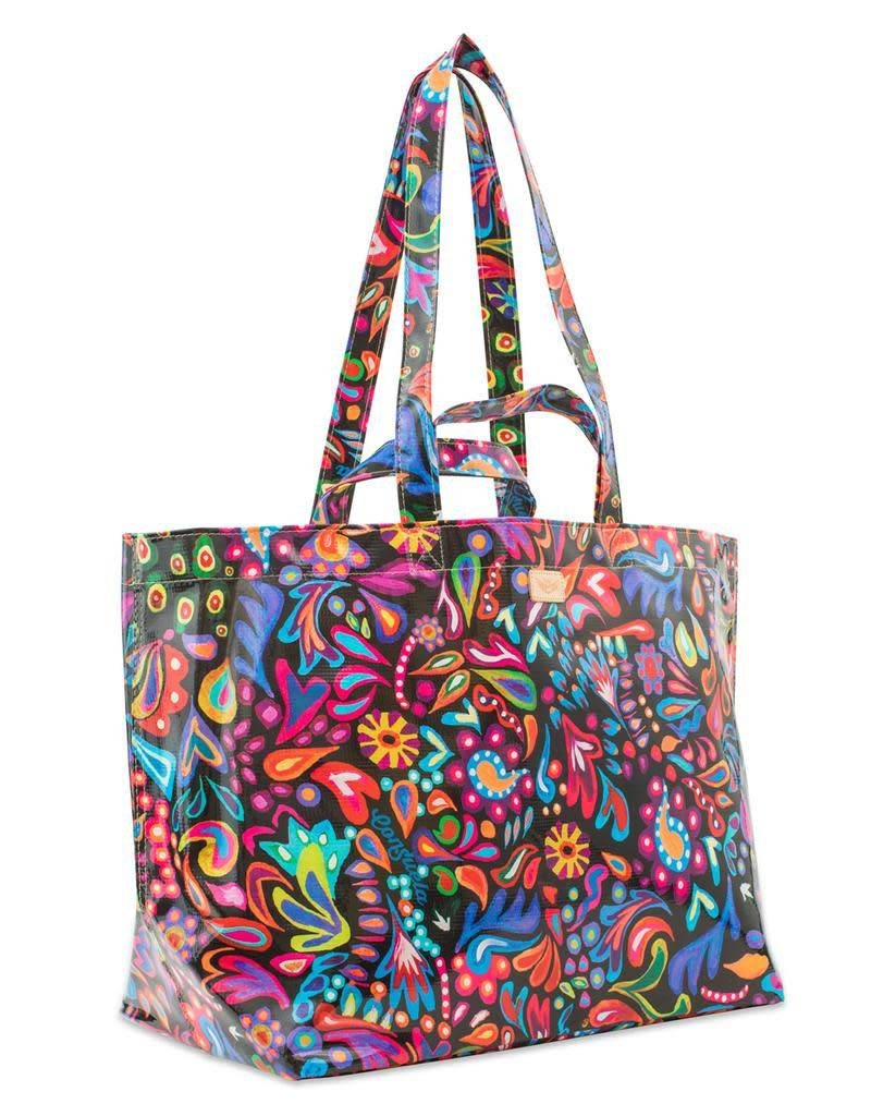 Consuela Jumbo Bag Sophie Black Swirly