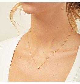 Gorjana Pristine Shimmer Charm Adjustable Necklace
