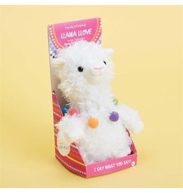 Plush Llama Speak & Repeat
