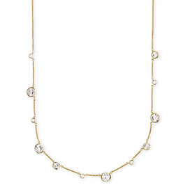 Kendra Scott Clementine Necklace in Gold