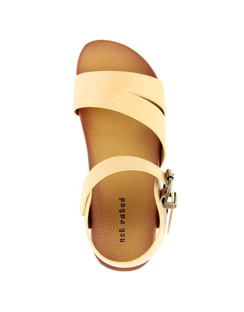 Not Rated Carmel Sandals- Nude