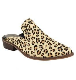 Naughty Monkey Carissa Leopard Mule